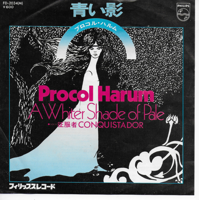 Procol Harum - A whiter shade of pale (Japanse uitgave)