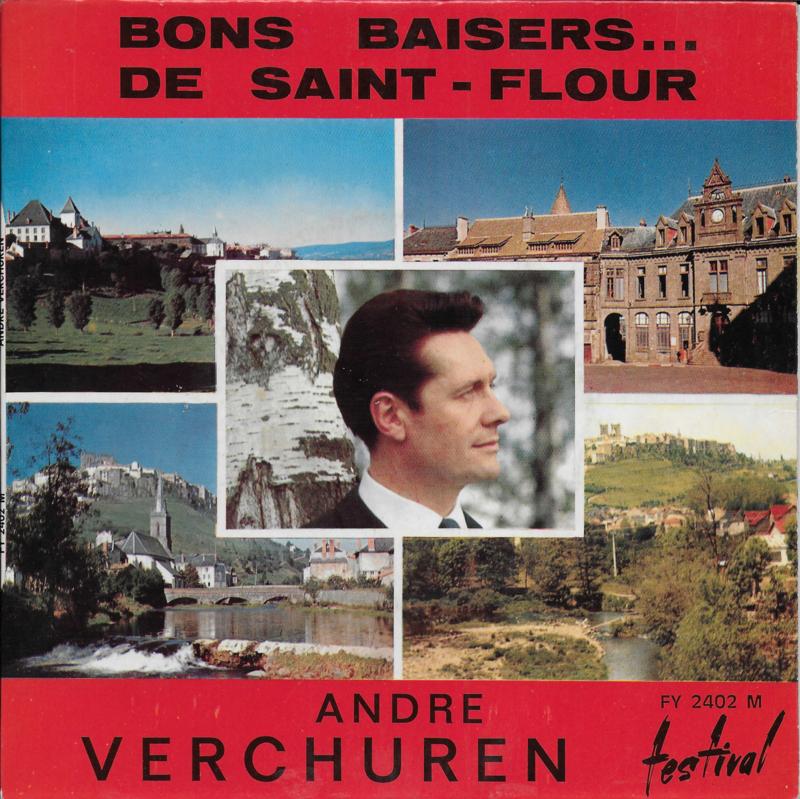 Andre Verchuren et son Orchestra - Bons baisers...de saint-flour