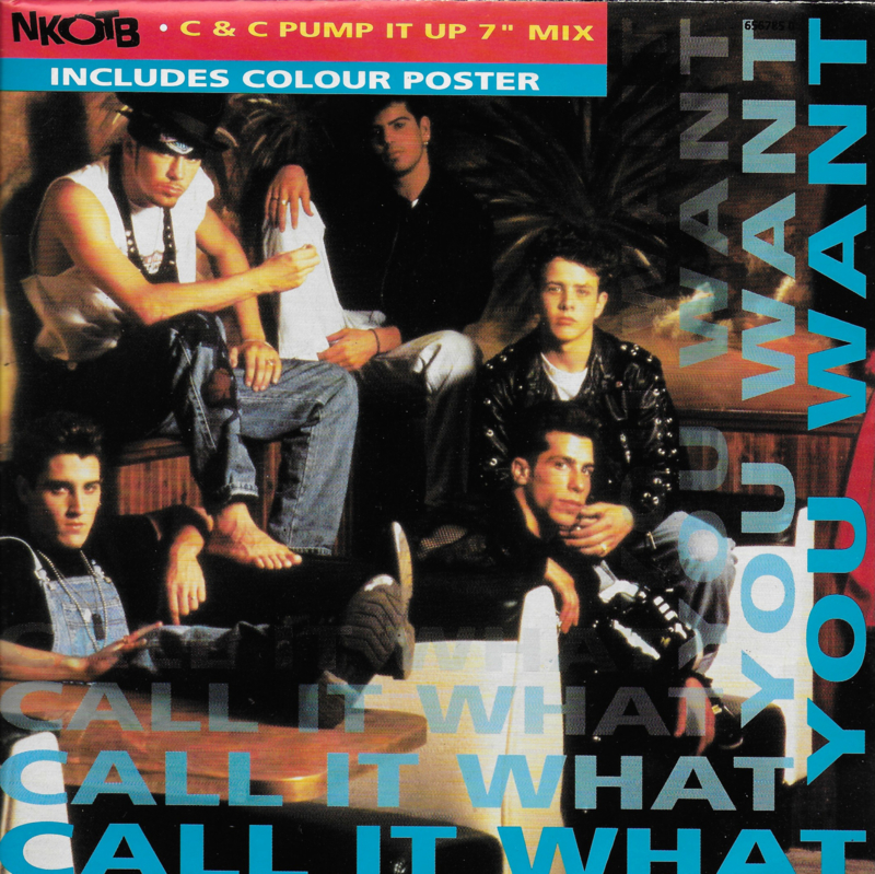 New Kids On The Block - Call it what you want (poster uitgave)