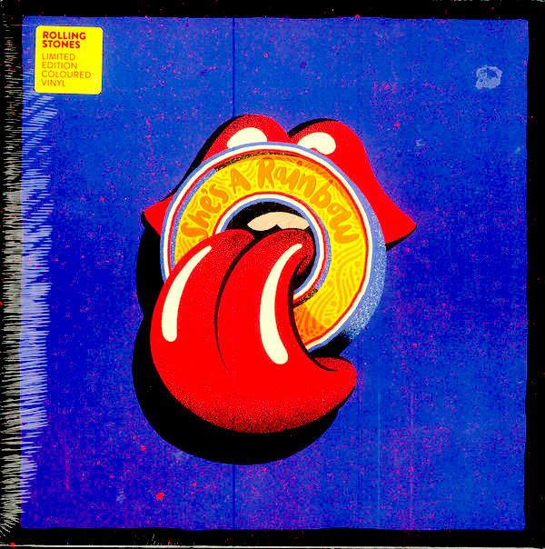 "Rolling Stones - She's a rainbow (live) (10"" geel vinyl)"