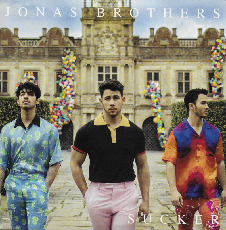 Jonas Brothers - Sucker (American edition, limited edition clear vinyl)