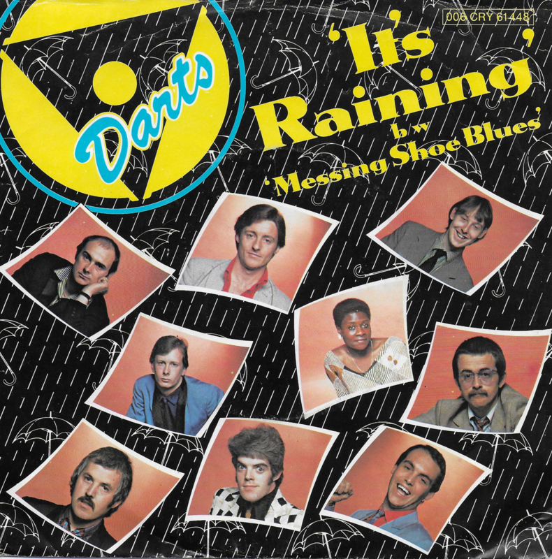 Darts - It's raining (Duitse uitgave)
