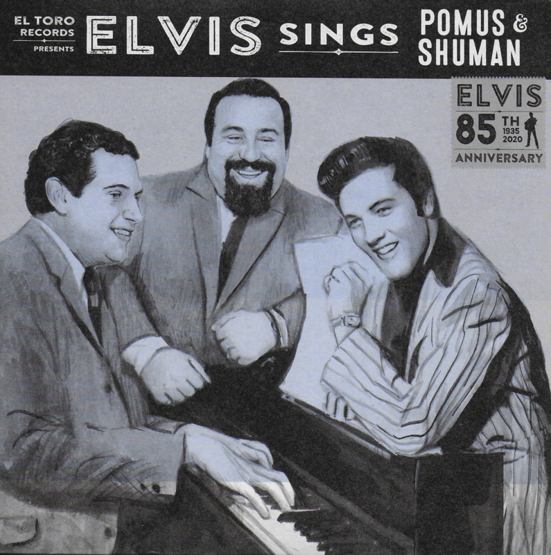 Elvis sings Pomus & Shuman (85th Anniversary) (Spanish limited edition, clear vinyl)