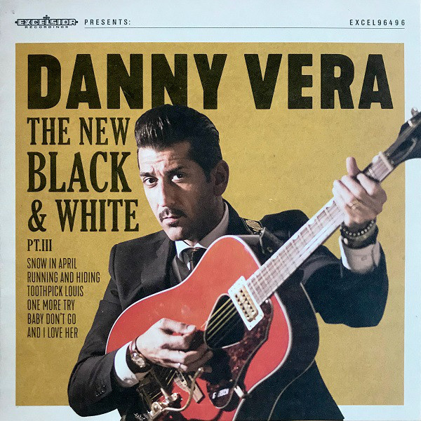"Danny Vera - The new black & white (part 3) (10"" vinyl)"