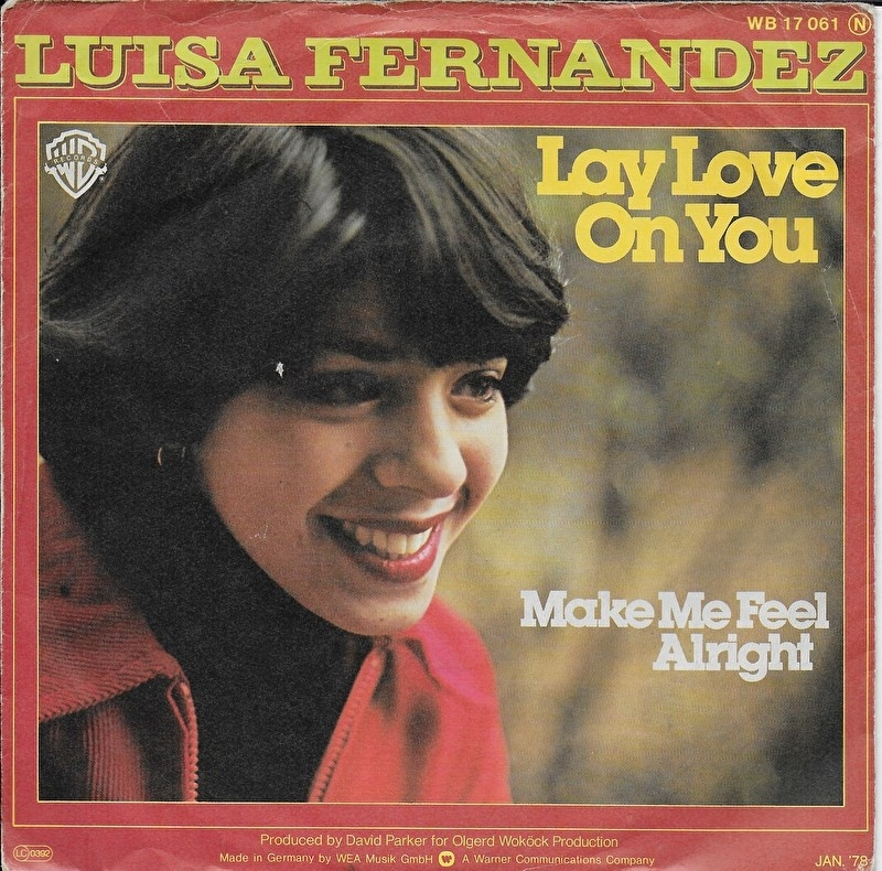 Luisa Fernandez - Lay love on you (Duitse uitgave)