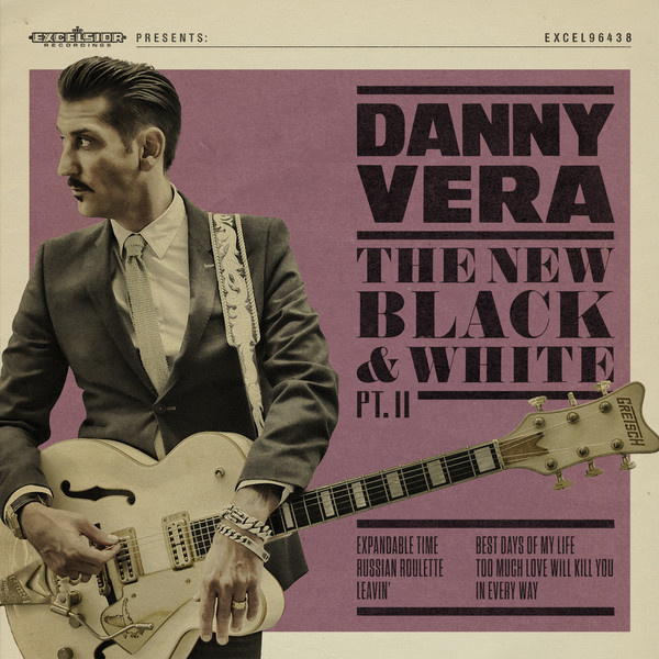 "Danny Vera - The new black & white (part 2) (10"" vinyl)"