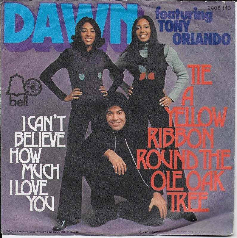 Dawn - Tie a yellow ribbon round the ole oak tree (Duitse uitgave)