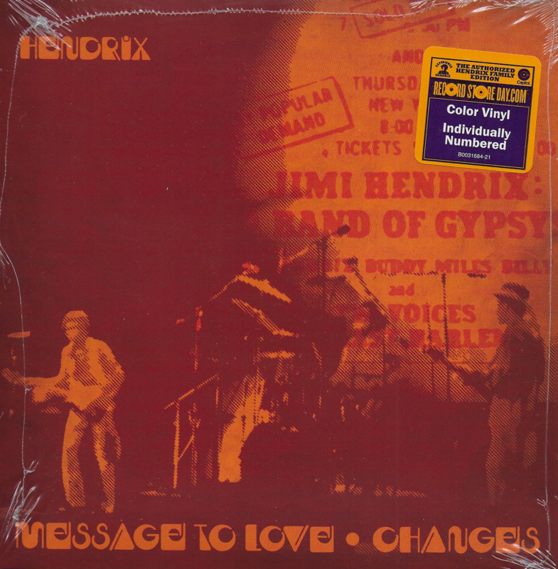 Jimi Hendrix - Message to love (Limited edition of 10650 copies)