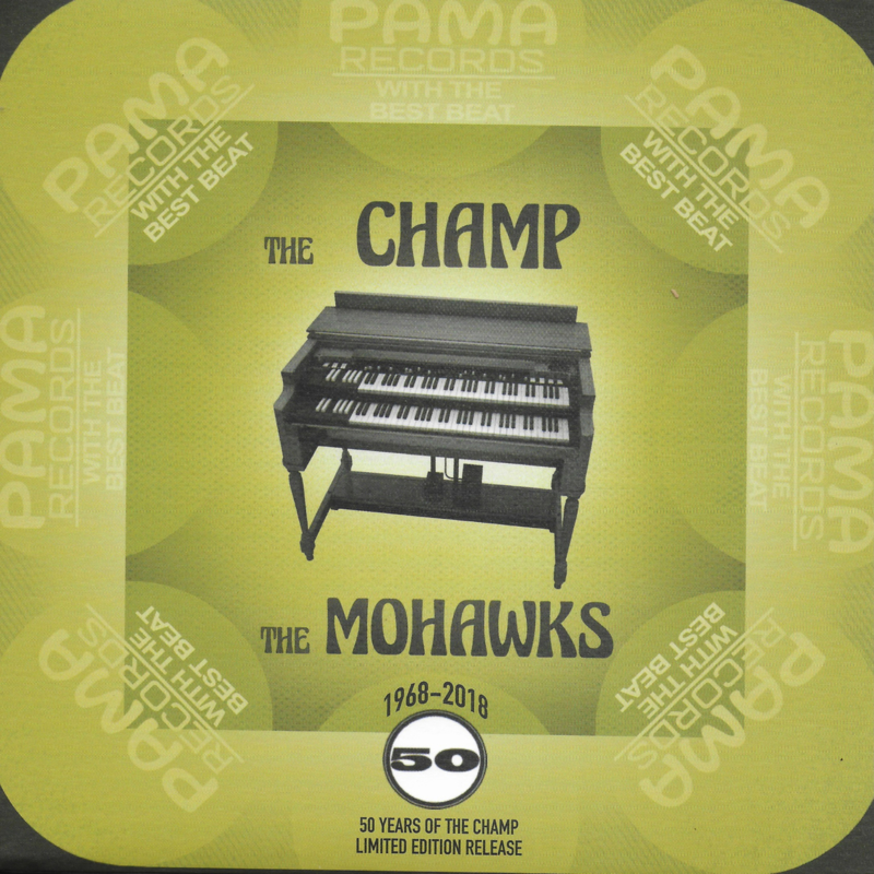 Mohawks - The Champ (limited edition, gold vinyl)