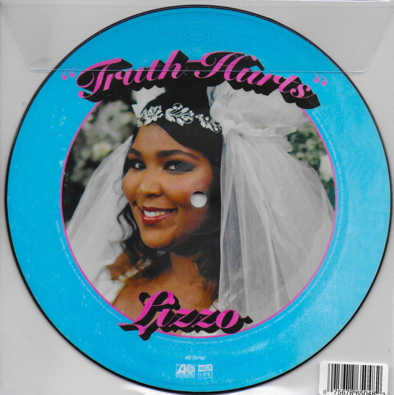 Lizzo - Truth hurts (Amerikaanse uitgave, limited blue picture disc)