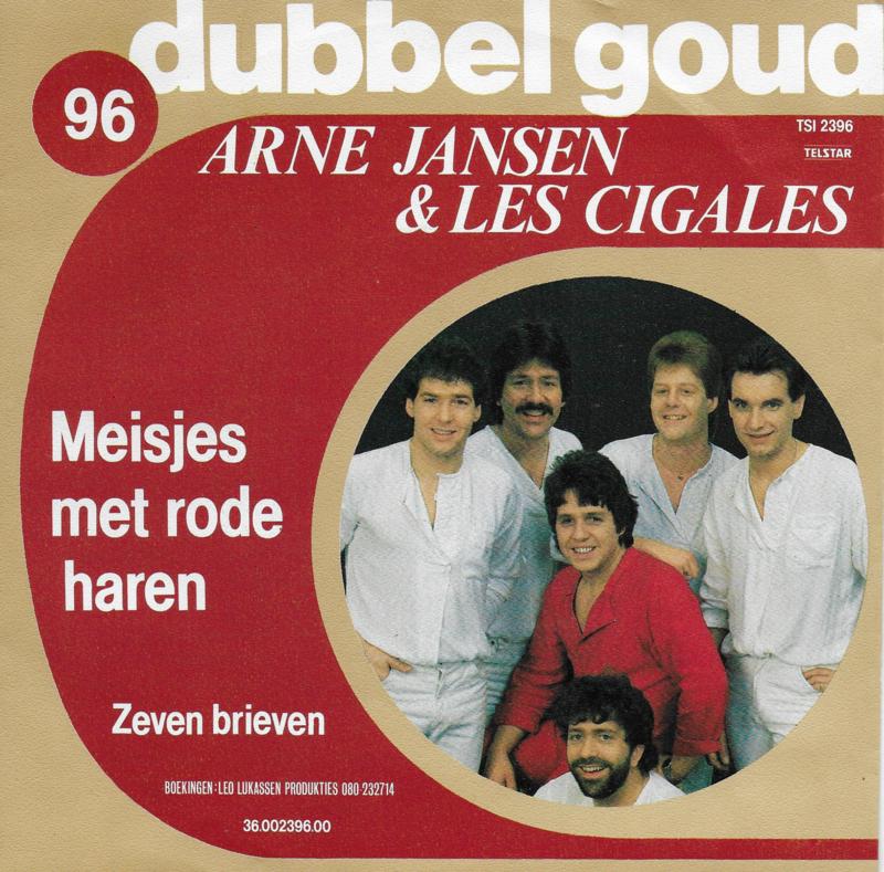 Arne Jansen & Les Cigales - Meisjes met rode haren / Zeven brieven