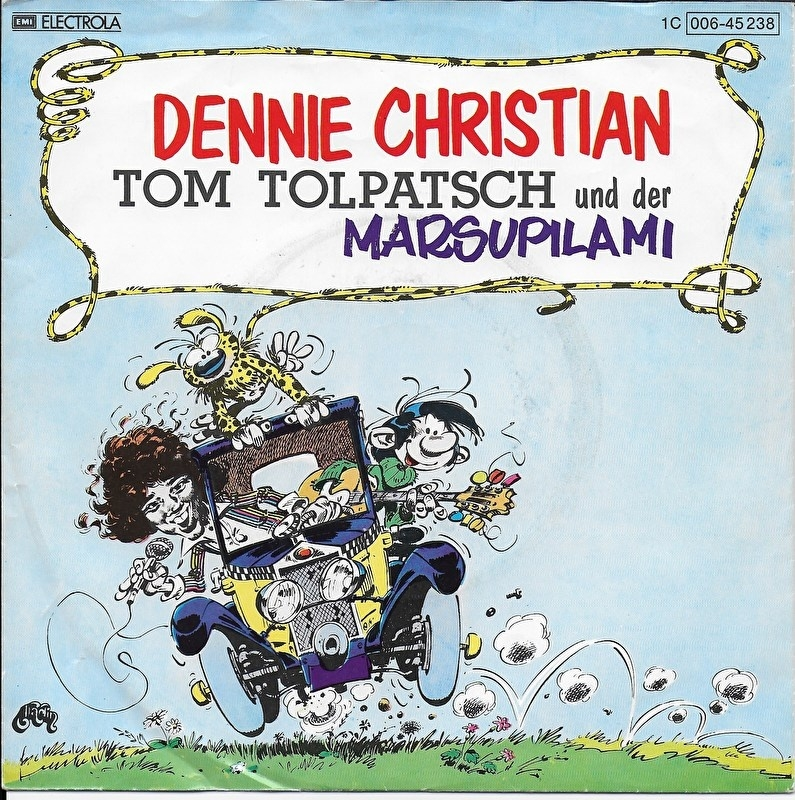 Dennie Christian - Tom Tolpatsch und der Marsupilami (Wir zwei sind freunde)