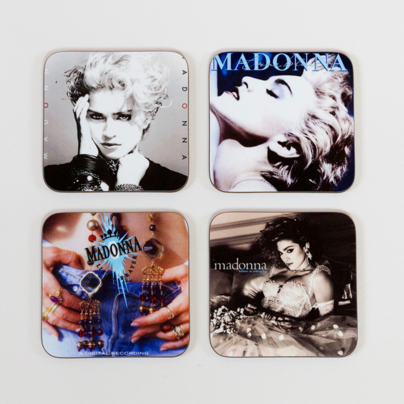 Madonna Album Cover Coasters