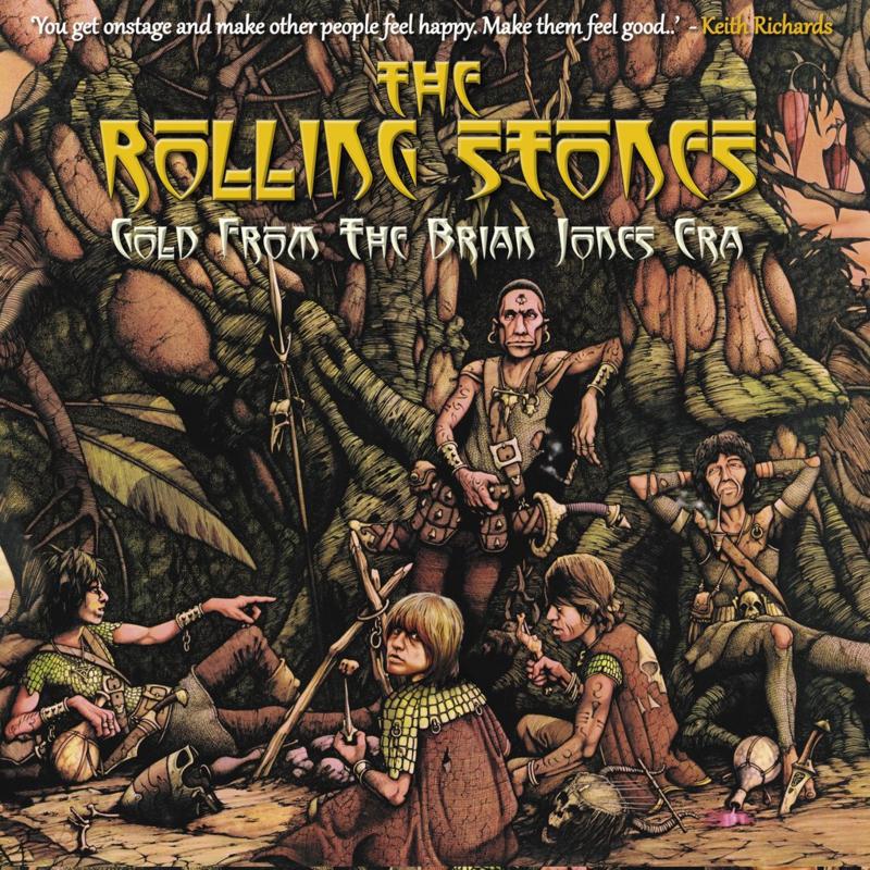 "Rolling Stones - Gold from the Brain Jones era (Limited 10"" dubbel vinyl)"