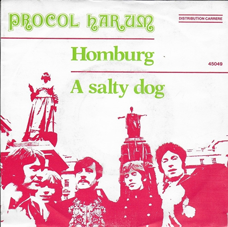 Procol Harum - Homburg (Europese uitgave)
