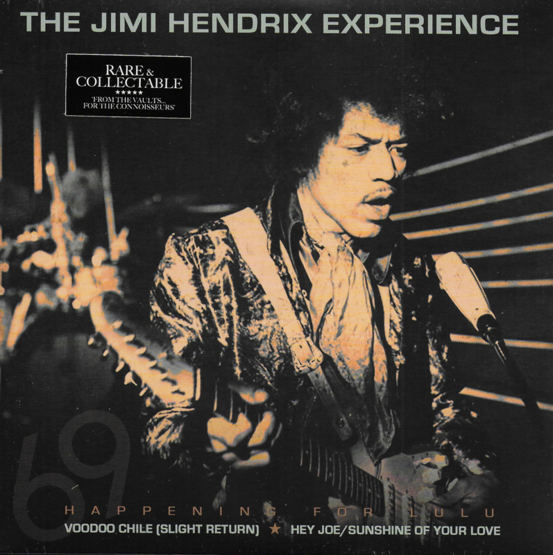 Jimi Hendrix Experience - Happening for Lulu, January 4th 1969 (Limited edition of only 500 orange vinyl)