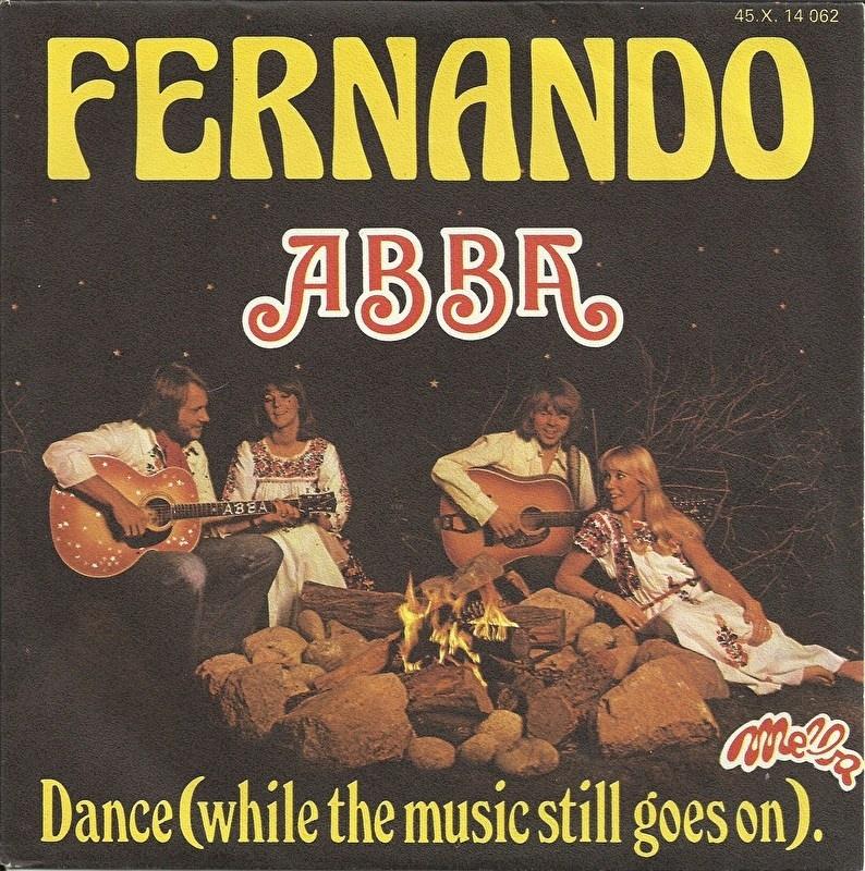 Abba - Fernando (Franse uitgave)
