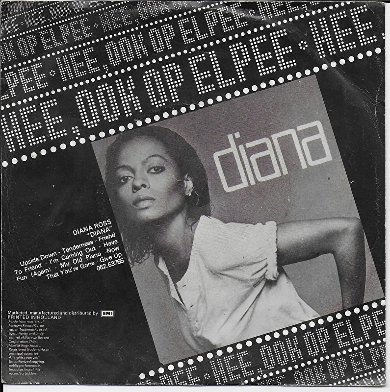 diana ross upside down d vinyl on 45 vinyl on 45