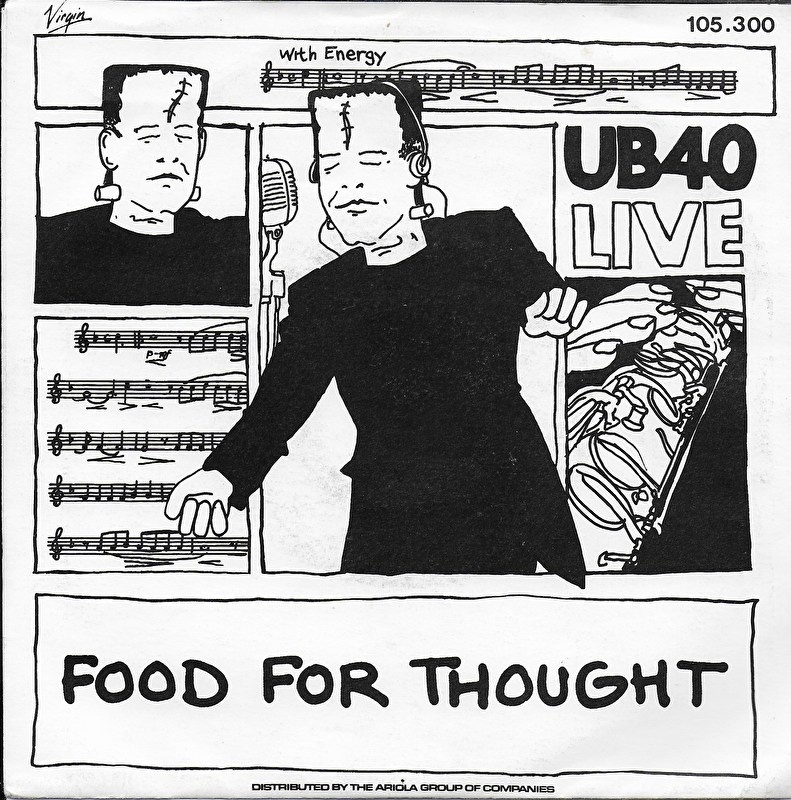 "UB 40 - Food for thought ""live"""