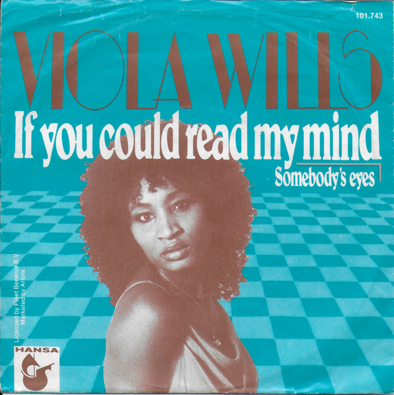 Viola Wills - If you could read my mind (Duitse uitgave)
