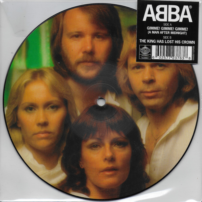 Abba - Gimme! Gimme! Gimme! (a man after midnight) (Picture disc)