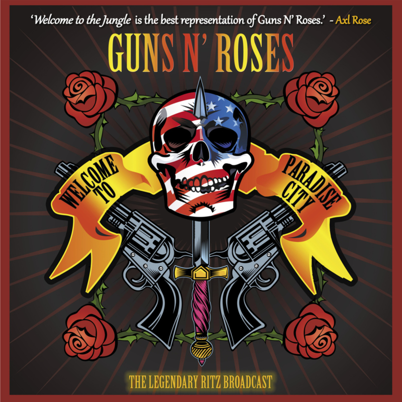 "Guns n' Roses - Welcome to Paradise City (Limited 10"" dubbel vinyl)"