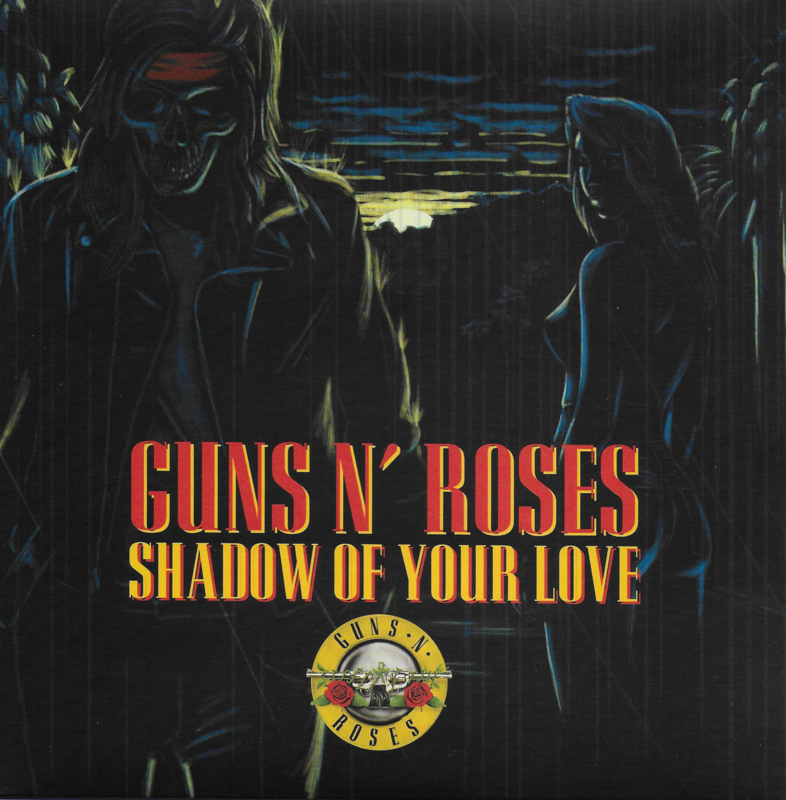 Guns n' Roses - Shadow of your love (Limited edition, rood vinyl)