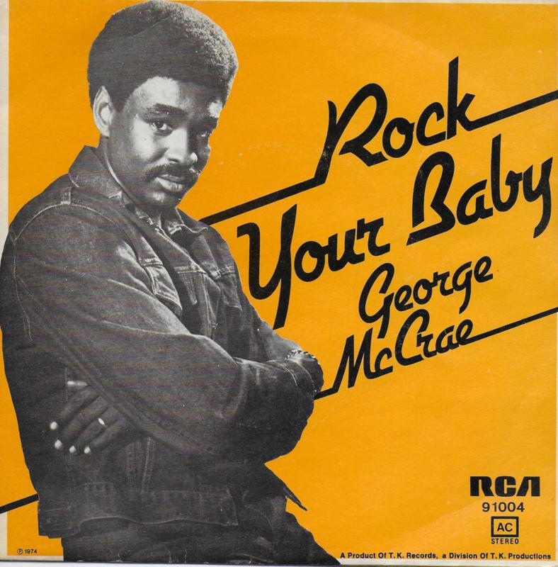 George McCrae - Rock your baby (Belgische uitgave)