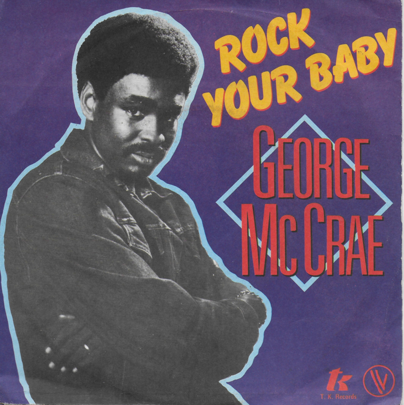 George McCrae - Rock your baby (Franse uitgave)
