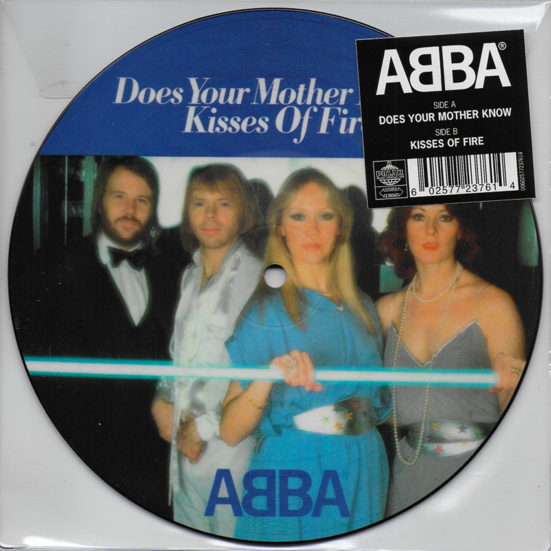 Abba - Does your mother know (Picture disc)