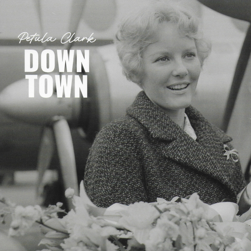 Petula Clark - Down town  / This is my song (Limited edition, lichtblauw vinyl)