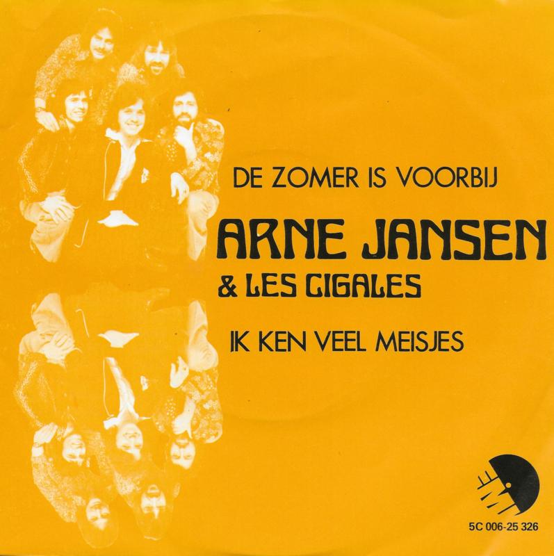 Arne Jansen & Les Cigales - De zomer is voorbij