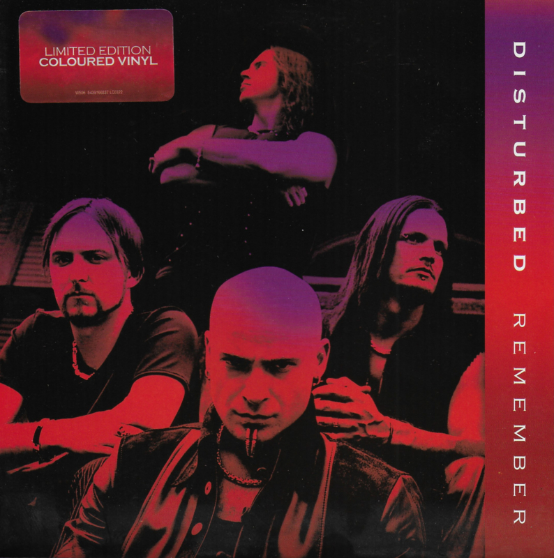 Disturbed - Remember (Limited edition, paars vinyl)