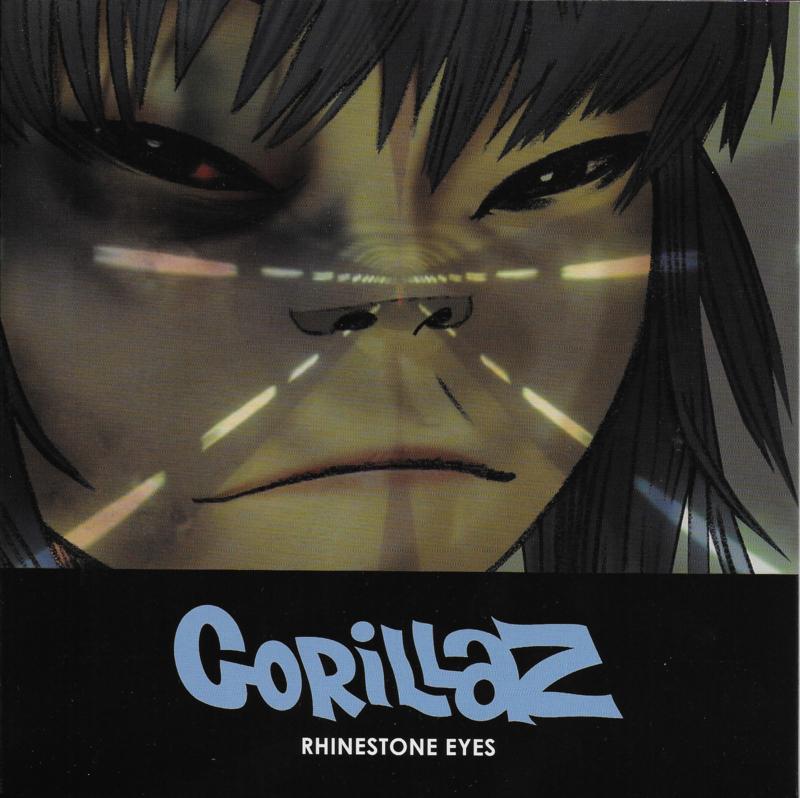 Gorillaz - Rhinestone eyes