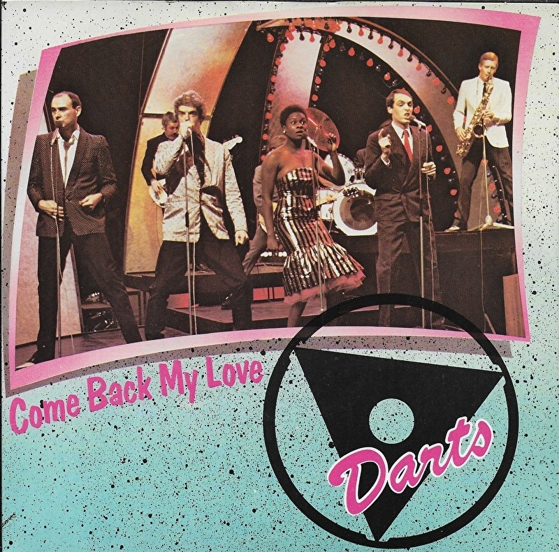 Darts - Come back my love (Engelse uitgave)
