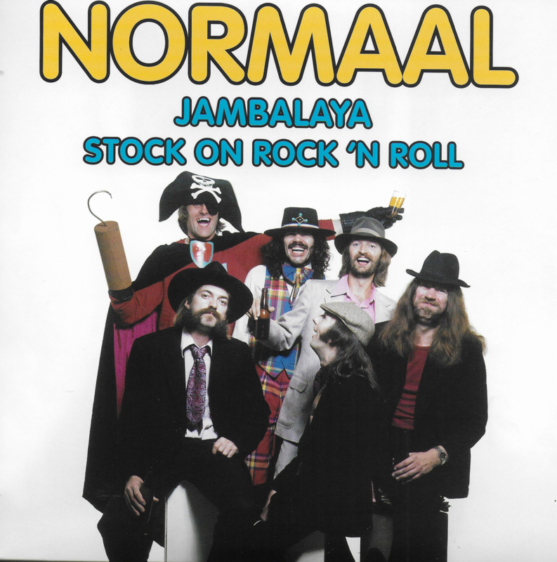Normaal - Jambalaya / Stock on rock 'n roll (Limited edition, rood vinyl)
