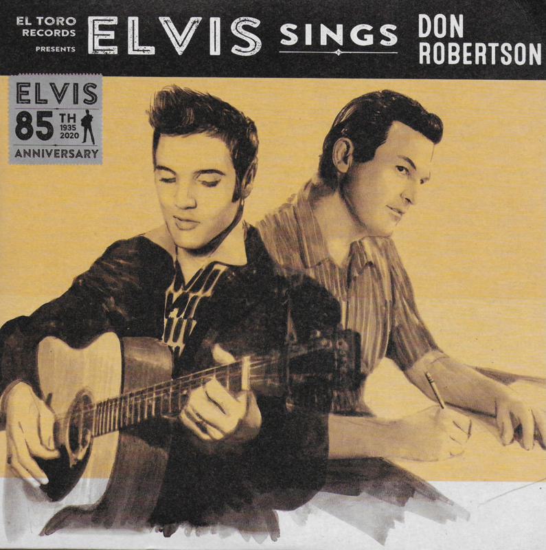 Elvis sings Don Robertson (85th Anniversary) (Spaanse limited edition uitgave, rood vinyl)