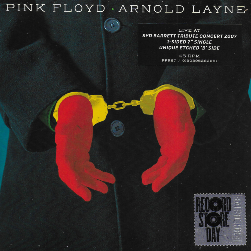 "Pink Floyd - Arnold Layne (Limited edition, 1-sided 7"" single)"