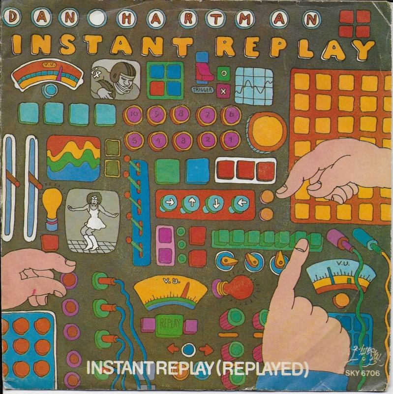 Dan Hartman - Instant replay  (Alternative cover)