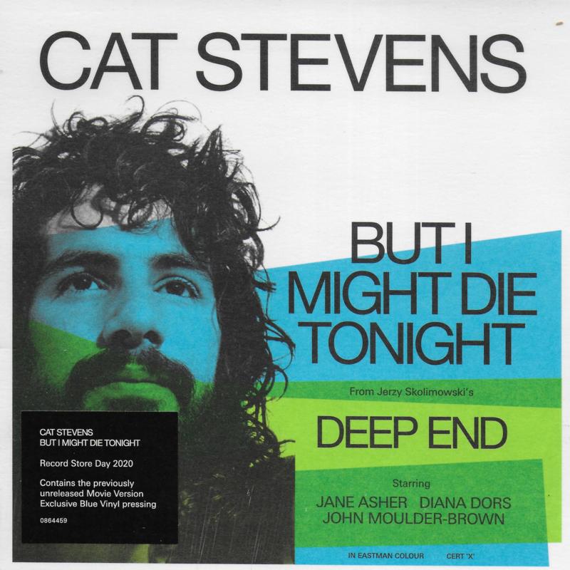 Cat Stevens - But I might die tonight (Limited edition, blue vinyl)