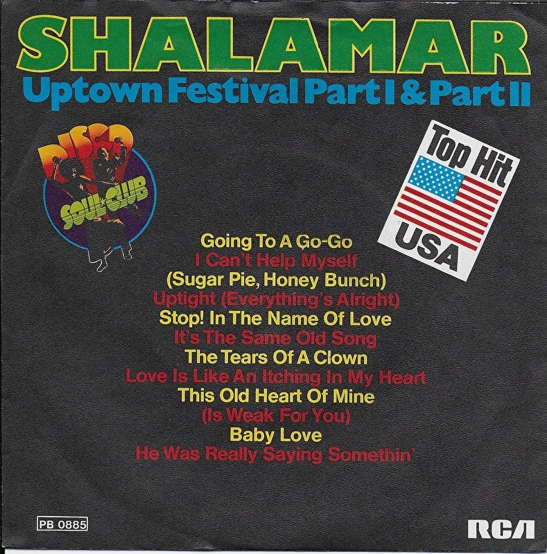 Shalamar - Uptown festival (part 1)