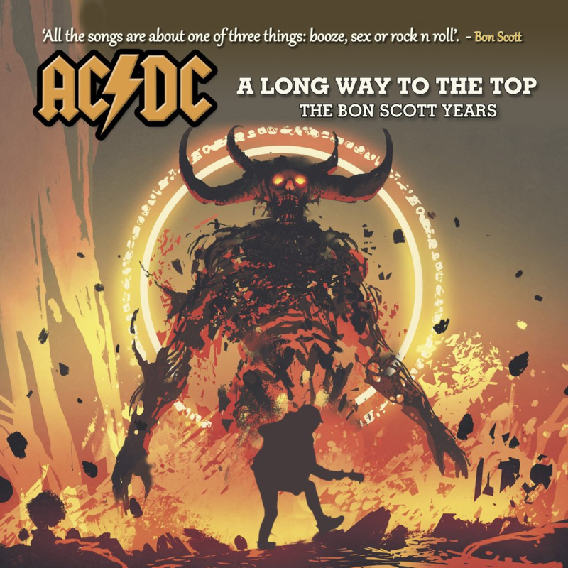 "AC/DC - A long way to the top : The Bon Scott years (Limited dubbel 10"" vinyl)"