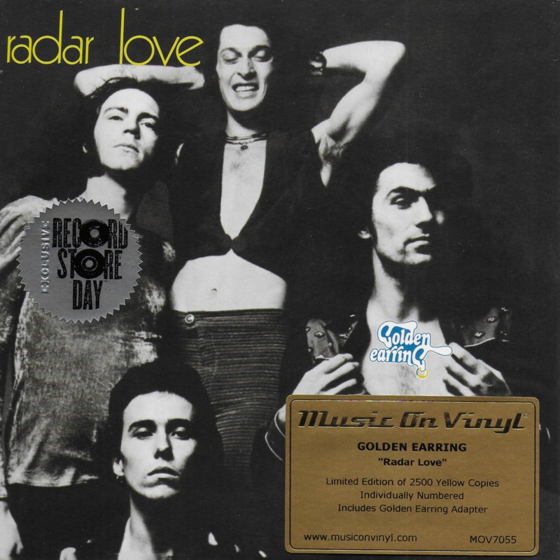 Golden Earring - Radar love (Limited edition, yellow vinyl)