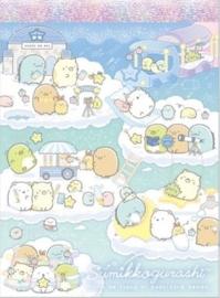 Sumikko Gurashi Starry Sky memoblok