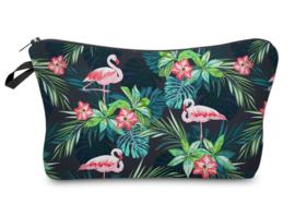 Flamingo Planten etui / toilettas