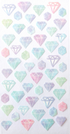 Diamant stickervel