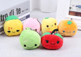 Kawaii Fruit setje van 3