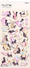 Nyan Kat stickervel 2
