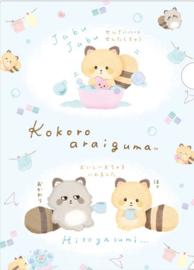 Kokoro Araiguma wassen insteekmap