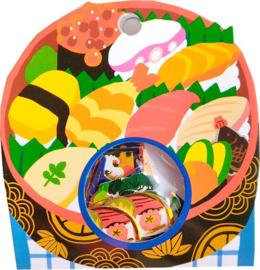 Sushi stickerzakje